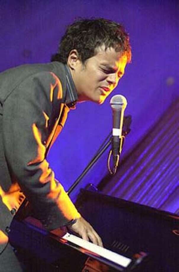 Jamie Cullum, British singer and songwriter, brings his piano to the Palace of Fine Arts.