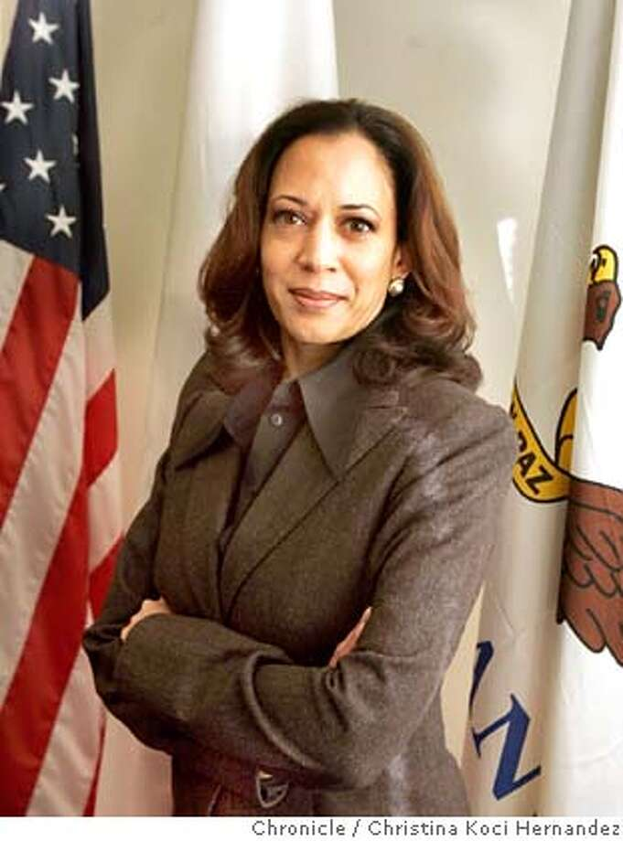 CHRISTINA KOCI HERNANDEZ/CHRONICLE  We're doing a two year anniversary story on SF District Attorney Kamala Harris. Photo: CHRISTINA KOCI HERNANDEZ
