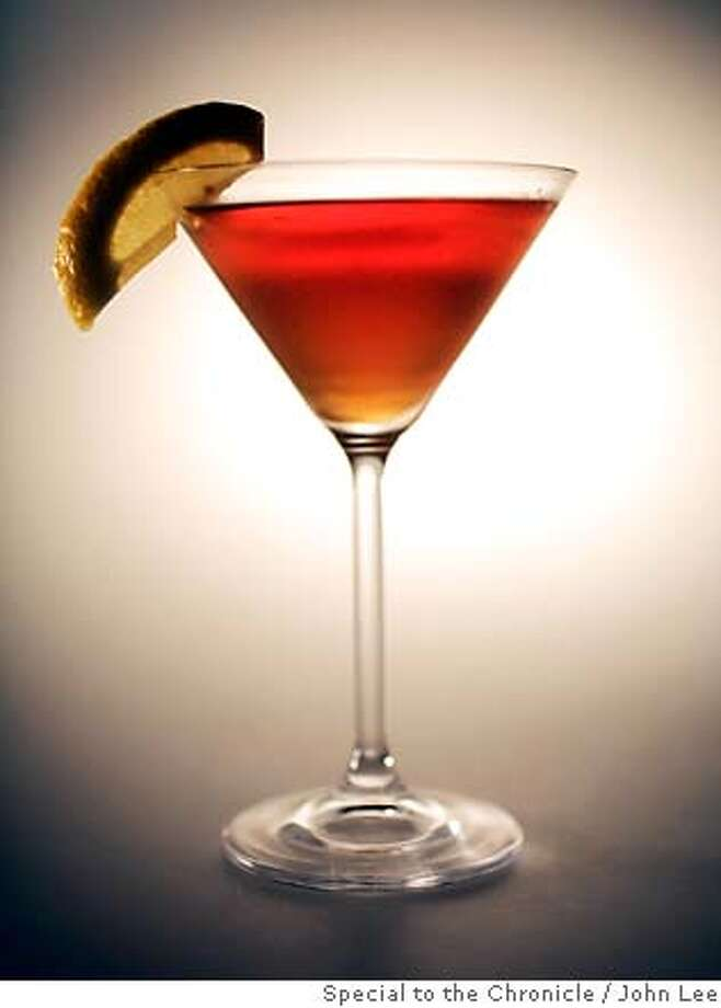 SPIRITS31_JOHNLEE.JPG  Purgatory cocktail.  By JOHN LEE/SPECIAL TO THE CHRONICLE Photo: John Lee