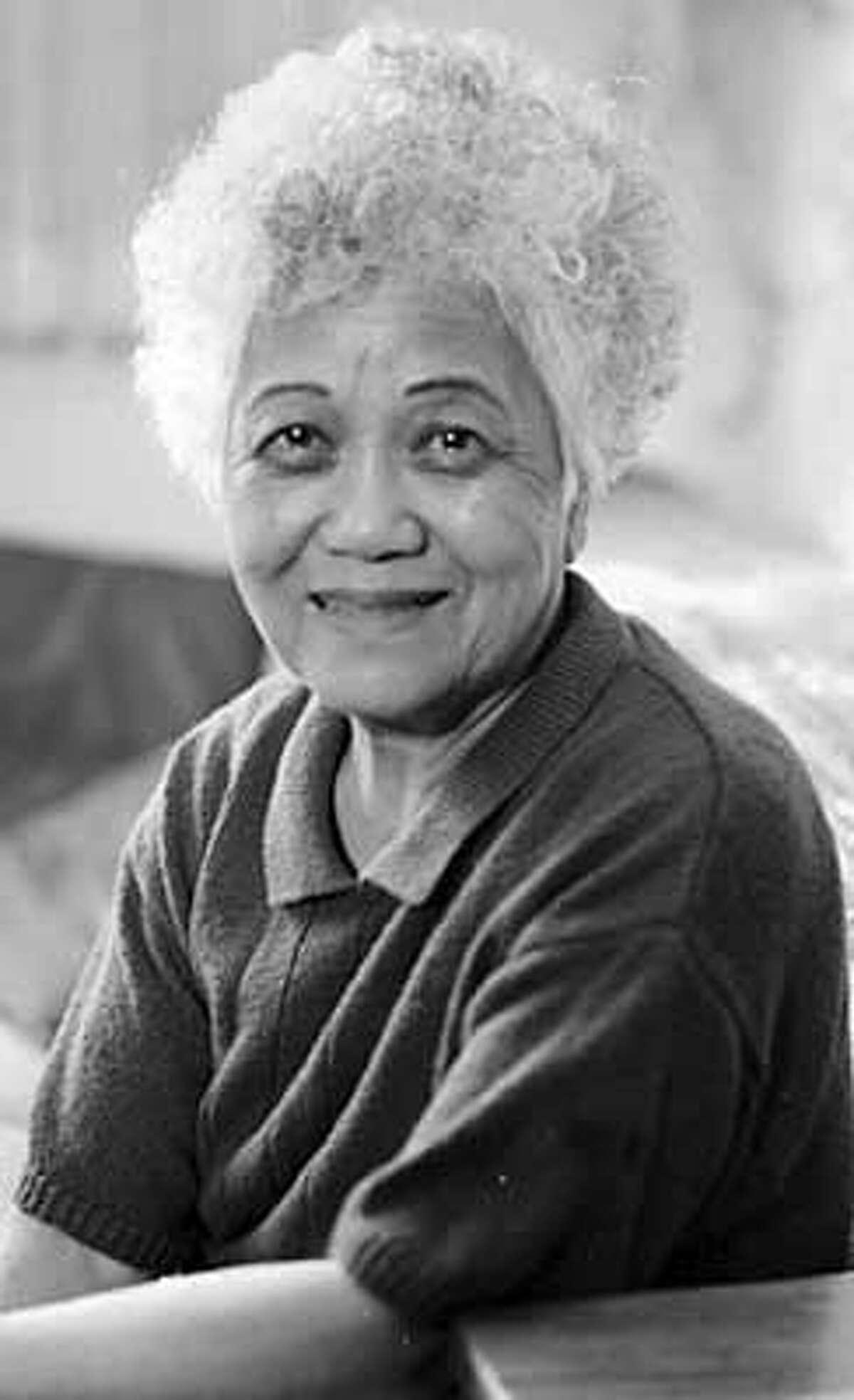Obituary photo of Tsuyako Kitashima. Ran on: 01-10-2006 Tsuyako Kitashima worked for redress for Japanese Americans who were interned.