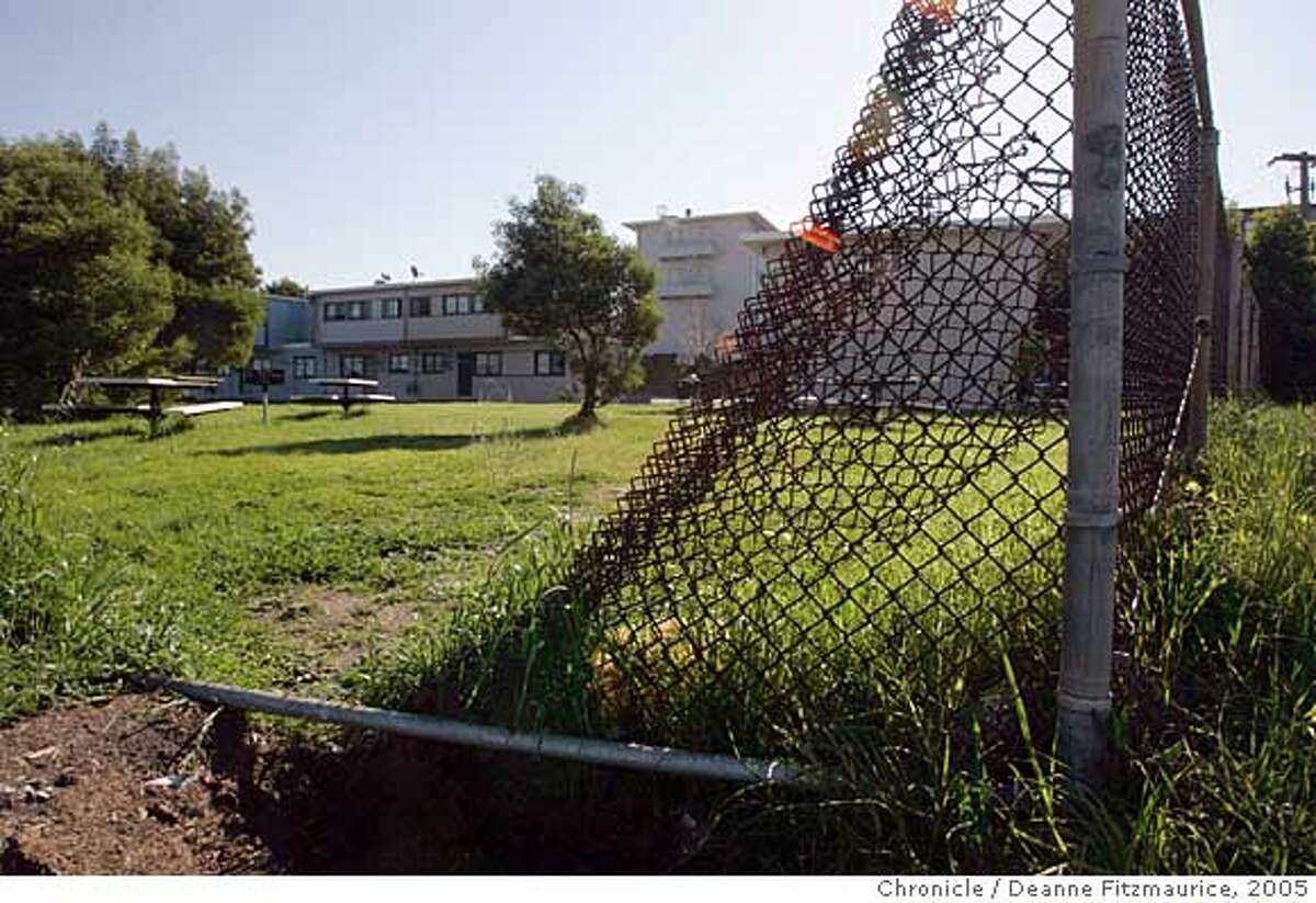 The Hunters View projects have fallen into dispair. Deanne Fitzmaurice / The Chronicle