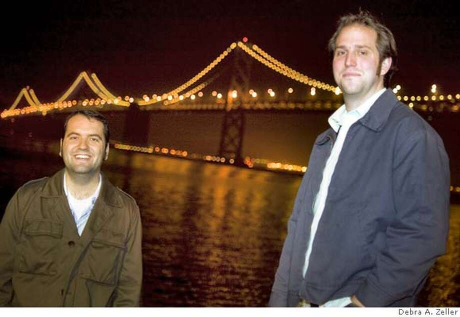 The Bay Bridged  right: Christian Cunningham  left: Ben Von Houten Photo: Debra A. Zeller