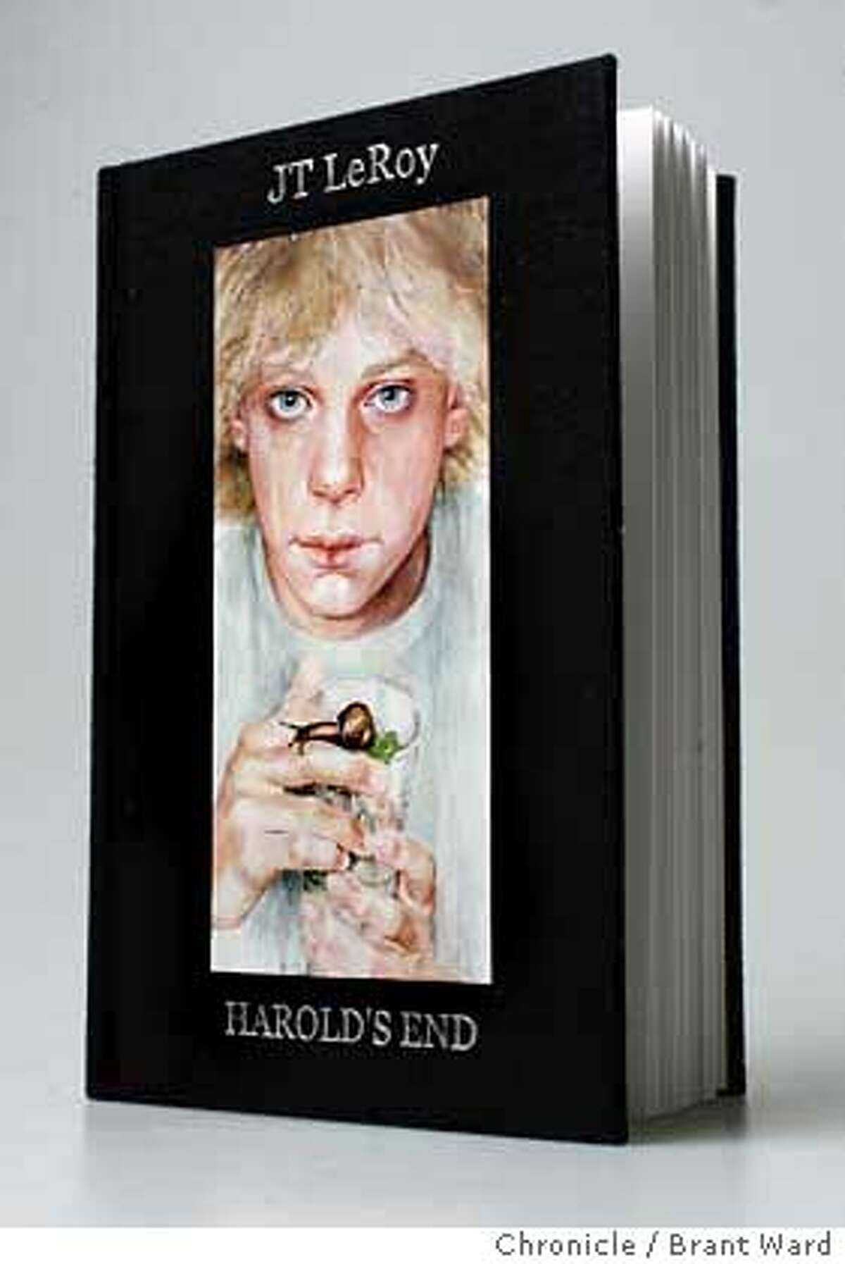 """JTLeRoy011_ward.jpg """"Harold's End,"""" a new book by author J.T. LeRoy. Brant Ward1/9/06"""