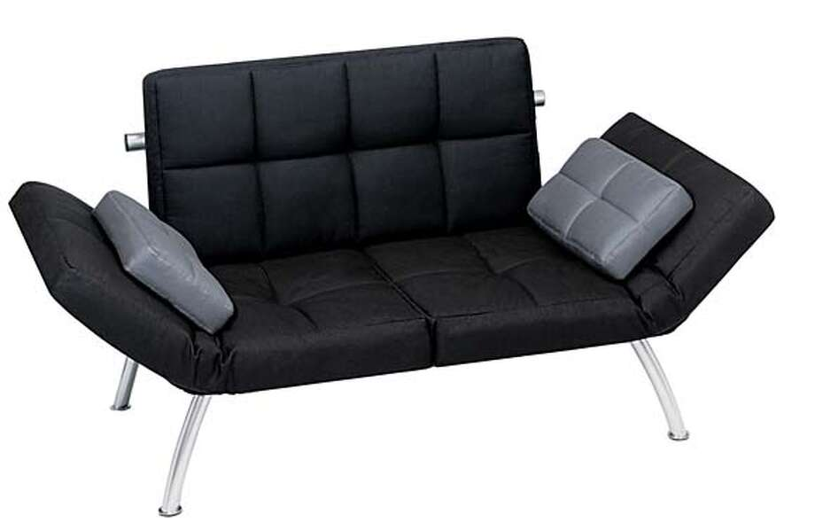 target euro futon in black (149.99) Photo: Ho