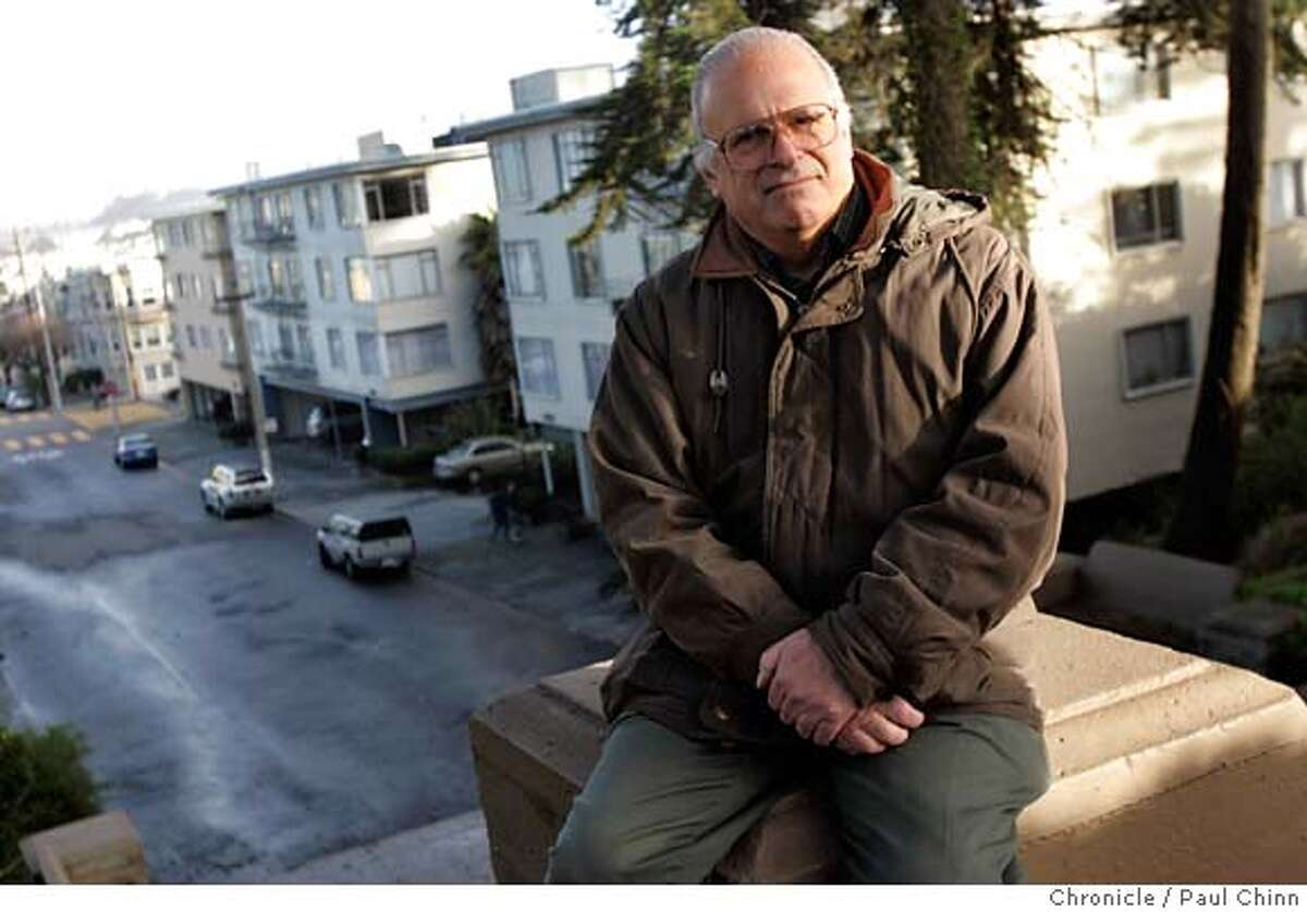 eviction03_020_pc.jpg Herbert Weiner in San Francisco, Calif. on 12/31/05. Weiner is one of many renters who's been evicted from their apartments under the Ellis Act. He is now living in an apartment in the Richmond District and pays $650 a month more in rent than he did in his last building. PAUL CHINN/The Chronicle MANDATORY CREDIT FOR PHOTOG AND S.F. CHRONICLE/ - MAGS OUT