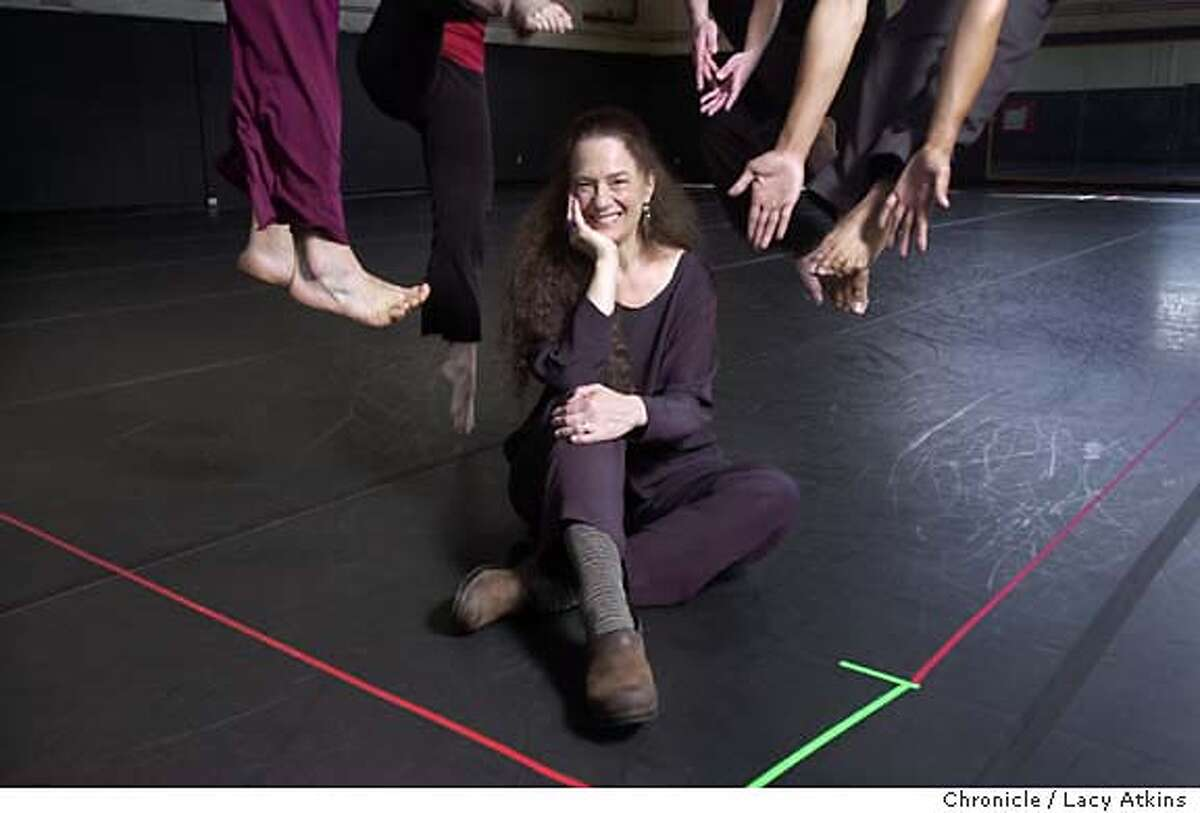 Margaret Jenkins, with her dancers celebrate the 30th anniversary installation with a new dance opeing April 24. SAN FRANCISCO CHRONICLE/LACY ATKINS