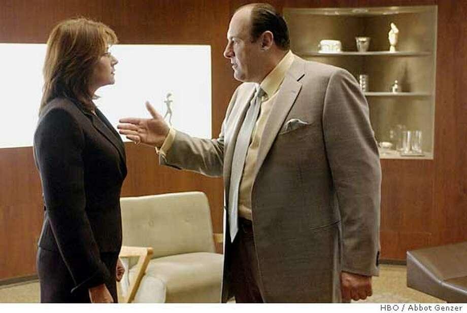 """""""THE SOPRANOS"""" Photo: ABBOT GENZER/HBO"""
