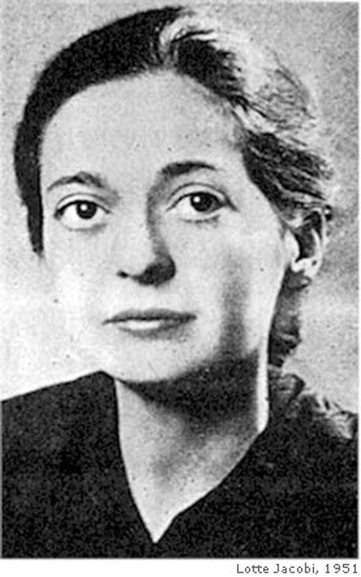 Joy Davidman photo by Lotte Jacobi, 1951