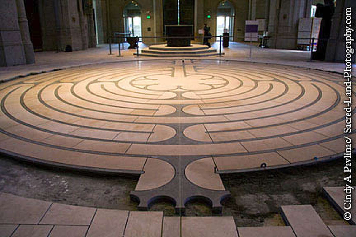 Stone Labyrinth nearing completion