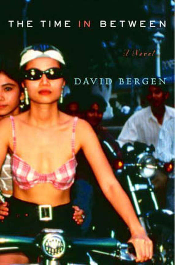 """Book cover art for, """"The Time In Between"""" A Novel by David Bergen. Photo: No Byline"""