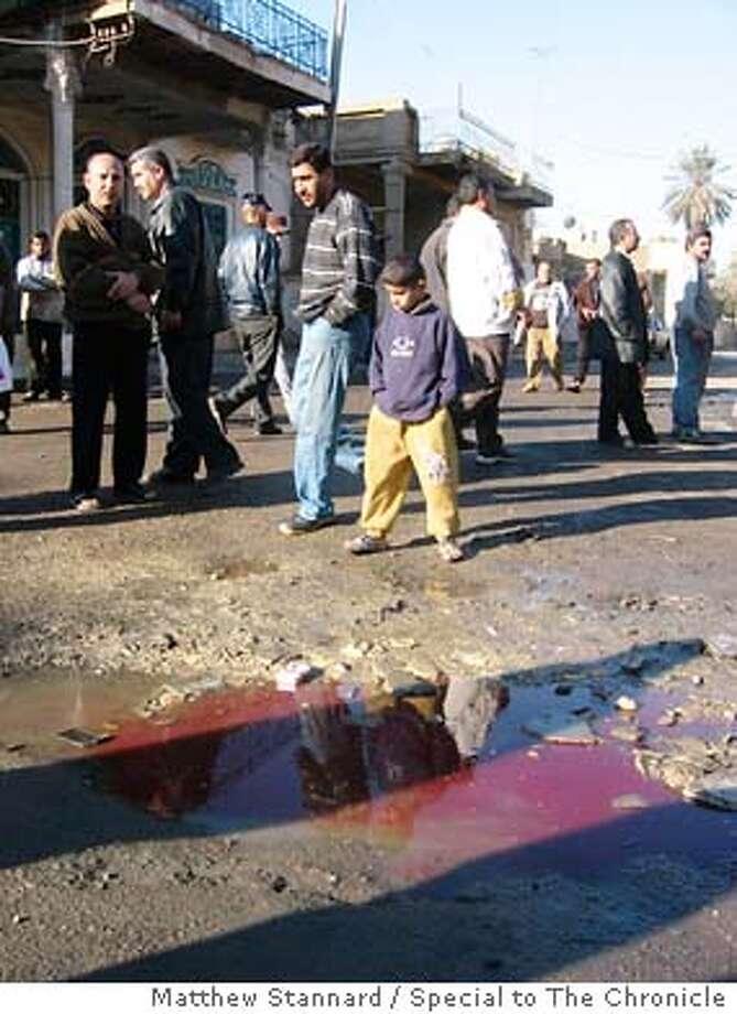 for Iraq-bombing; Matthew Stannard, / Special To The Chronicle Photo: Matthew Stannard