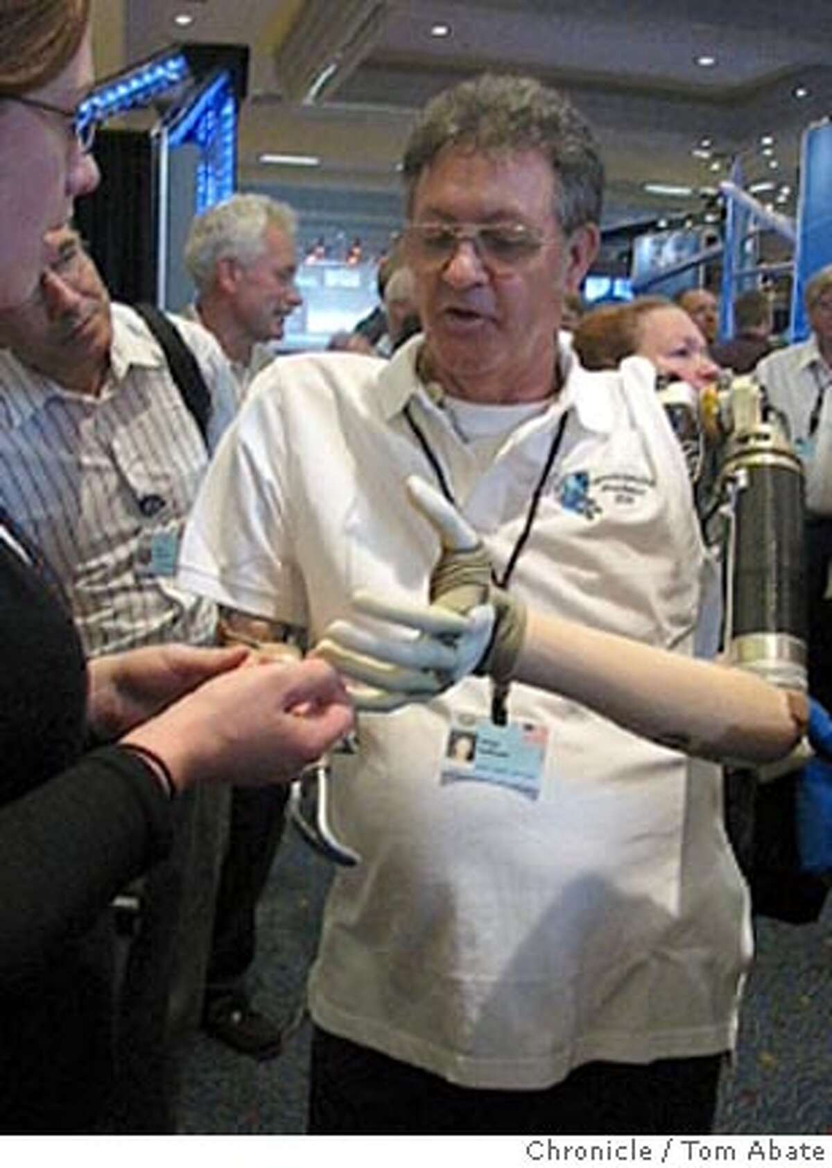 DARPA is developing more lifelike prosthetic limbs. BY TOM ABATE/THE CHRONICLE EDS NOTE: TAKEN FROM VIDEO; CAN'T RUN TOO BIG. Ran on: 08-26-2007 DARPA is developing more-realistic prosthetic limbs, an aspect of war that increasingly afflicts civilians as well as combatants.