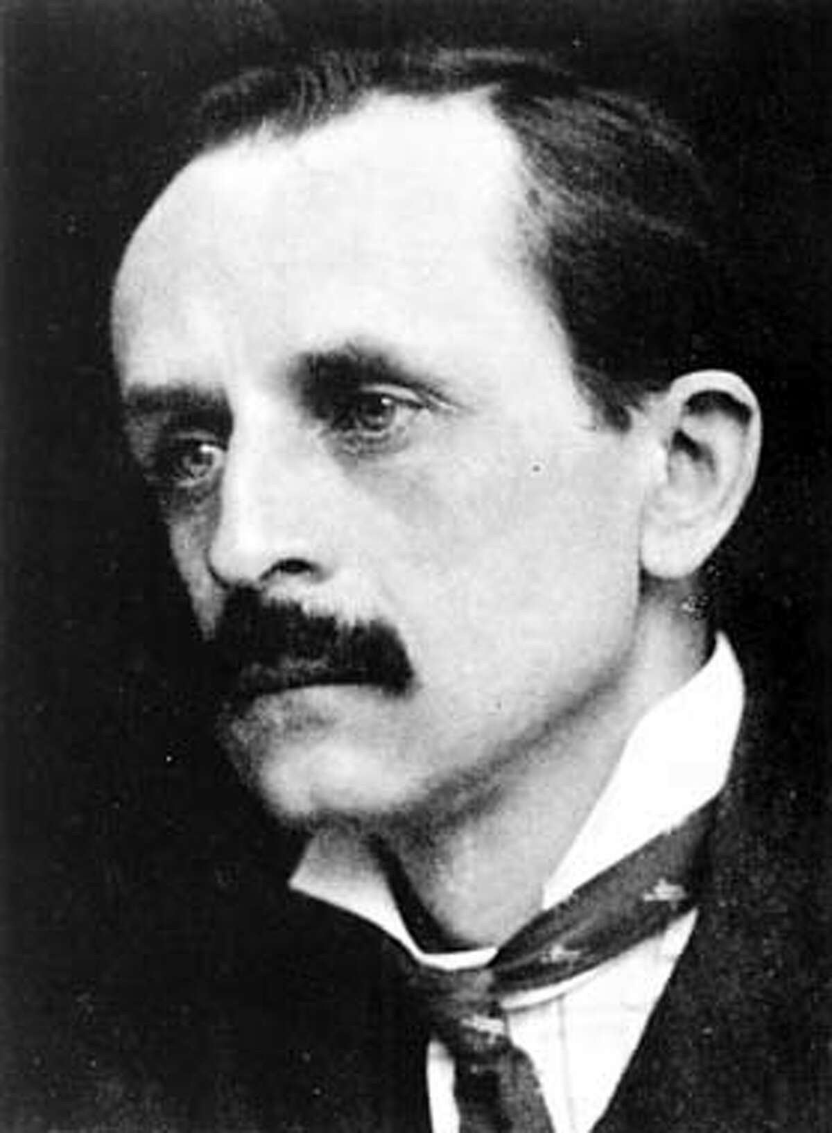 J.M. Barrie. Photograph by G.C. Beresford.