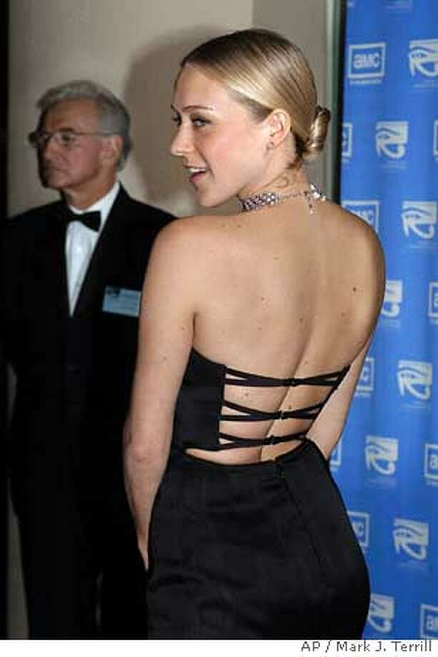 Cloe Sevigny arrives at the 18th Annual Awards, Friday night, Nov. 14, 2003, in Beverly Hills. Nicole Kidman is this year's award recipient. (AP Photo/Mark J. Terrill) Photo: MARK J. TERRILL