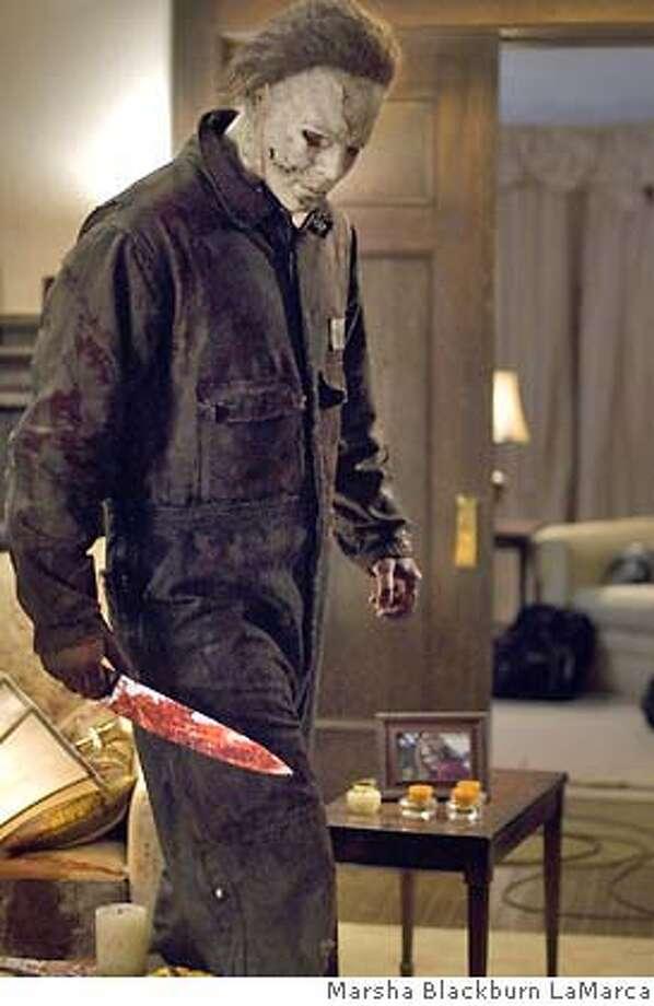 Tyler Mane is Michael Myers in Rob Zombie's Halloween. Photo: Marsha Blackburn LaMarca