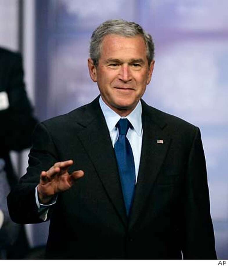President Bush. Associated Press Photo