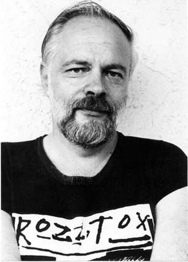 1981 photo of sci-fi writer Philip K. Dick who inspired such films as Blade Runner, Minority Report, Total Recall and paycheck.  Black and White handout photo by Nicole Panter