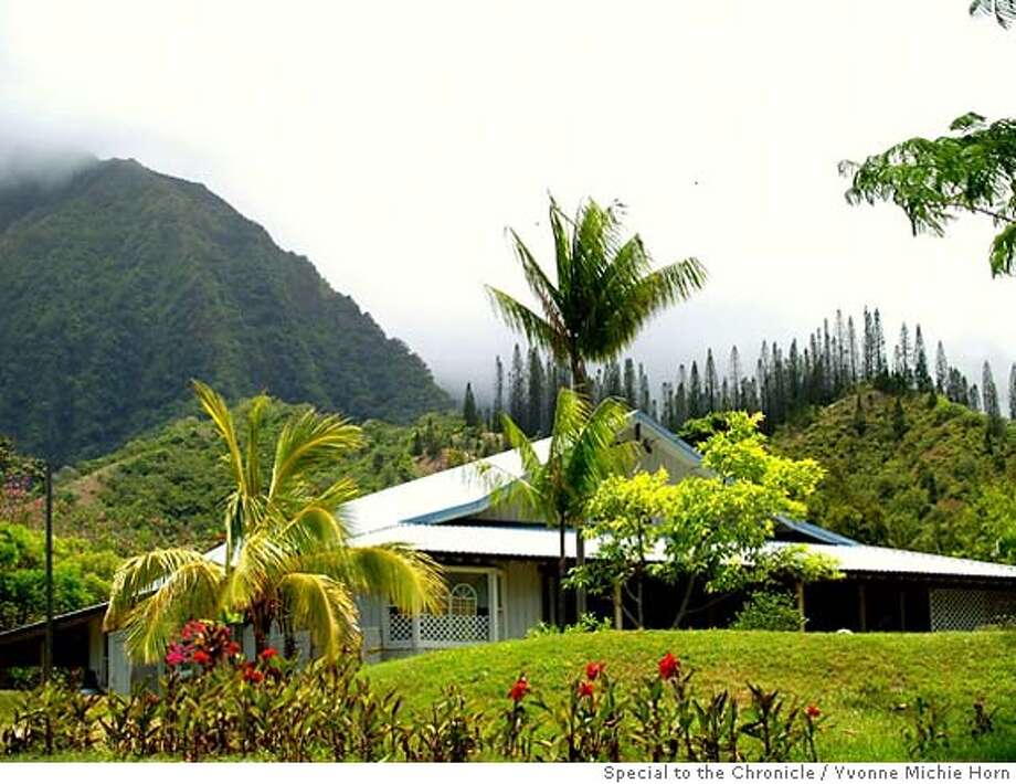 The visitor center at Senator Fong's Plantation & Gardens is 700 acres of lavish beauty on Oahu's windward side. The preserve is reminiscent of what Polynesians might have seen hundreds of years ago. Photo by Yvonne Michie Horn, special to the Chronicle