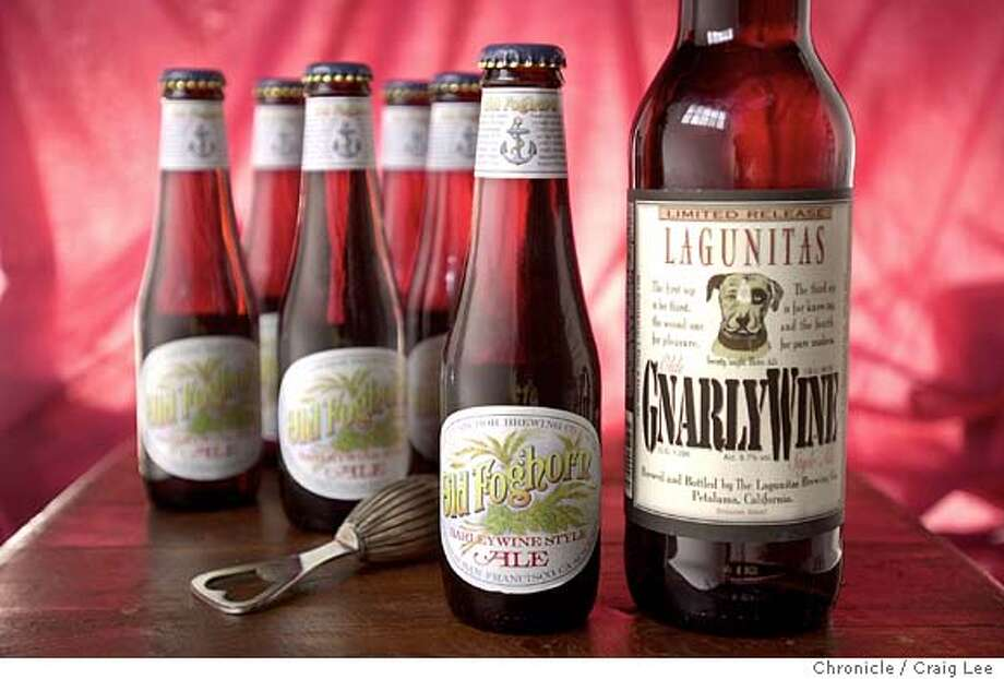 Photo of Barleywine. Photo styled by Shanti Wilson.  Event on 12/5/03 in San Francisco.  CRAIG LEE / The Chronicle Photo: CRAIG LEE