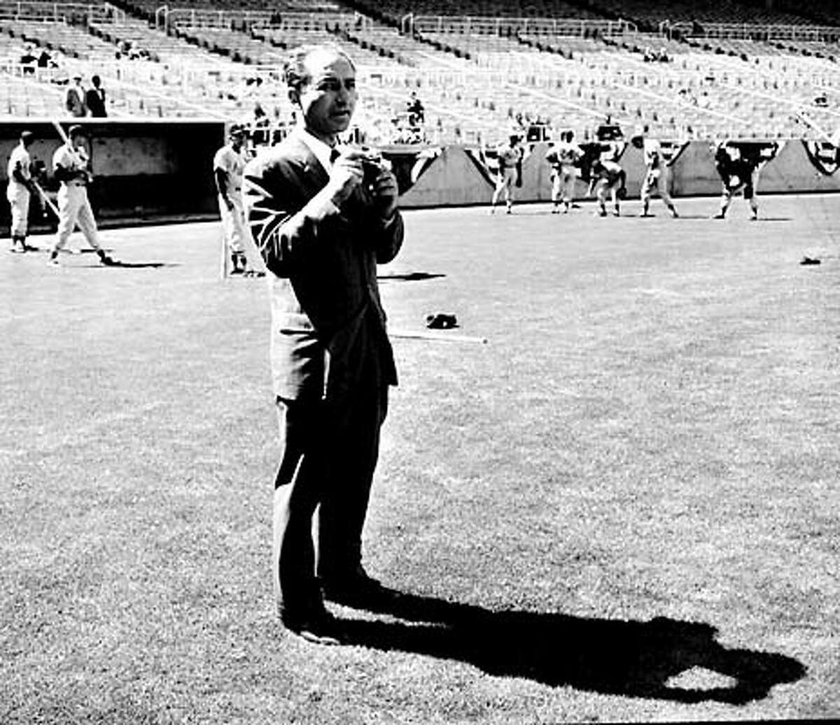 Art Rosenbaum, at Candelstick Park May 4, 1960