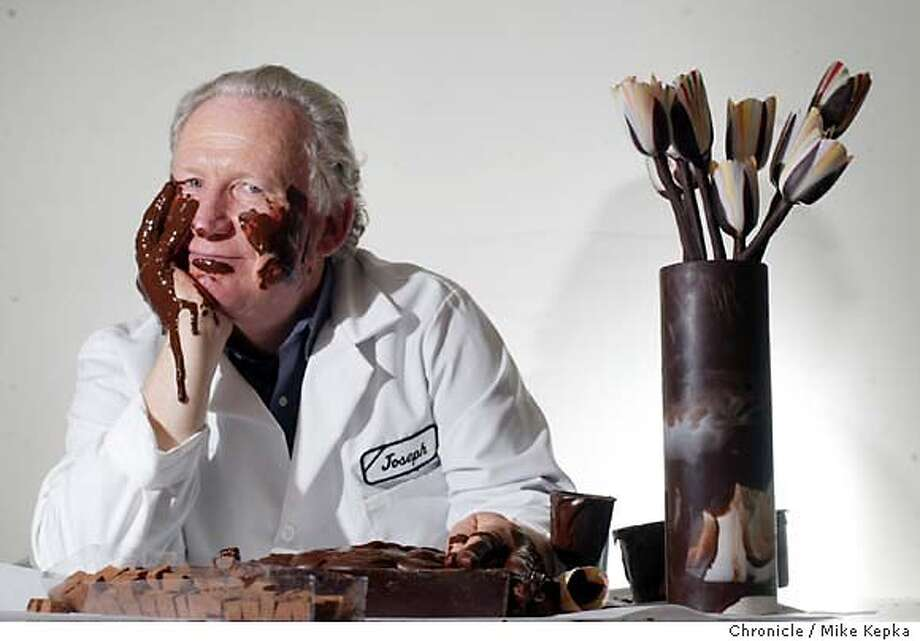 schmidt210128_mk.jpg Joseph Schmidt was one the first of now many Bay Area based fancy chocolatiers. He has factory has been at 17th and Folsom now for 8 years. 10/23/03 in San Francisco. MIKE KEPKA/The San Francisco Chronicle Photo: MIKE KEPKA