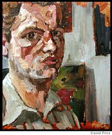 "for SFSlay; Daniel Price  ""Self Portrait ""  oil on panel, 13""x16"" , / HO"