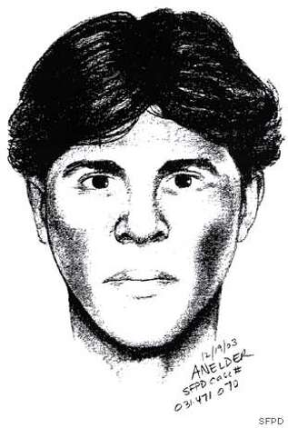 SFPD SKETCH OF SUSPECT WHO FATALLY SHOT A MAN IN THE HEAD NEAR GOUGH AND FILBERT STS IN SAN FRANCISCO'S COW HOLLOW DISTRICT AFTER MIDNIGHT THURSDAY, DECEMBER 18, 2003
