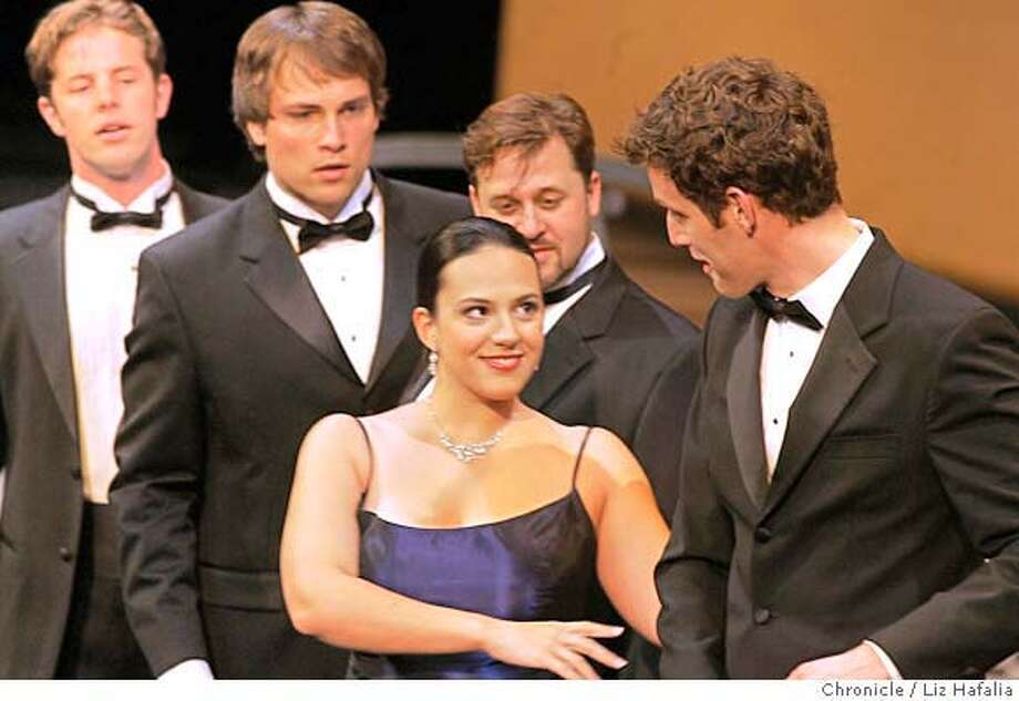 "MEROLA_127_LH_.JPG Daniela Mack plays Concepcion in ""Un financier---et une poete."" SF Opera's summer Merola Program finishes up with the Grand Finale, a series of solos and ensemble performances.  Liz Hafalia/The Chronicle/San Francisco/8/18/07  **Daniela Mack cq �2007, San Francisco Chronicle/ Liz Hafalia  MANDATORY CREDIT FOR PHOTOG AND SAN FRANCISCO CHRONICLE. NO SALES- MAGS OUT. Photo: Liz Hafalia"