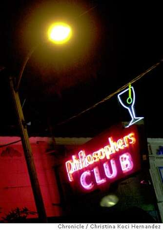 Magazine story on classic Bay Area bars, including the Philosophers Club, Mr. Bing's and Tosca.  CHRISTINA KOCI HERNANDEZ / The Chronicle Photo: CHRISTINA KOCI HERNANDEZ