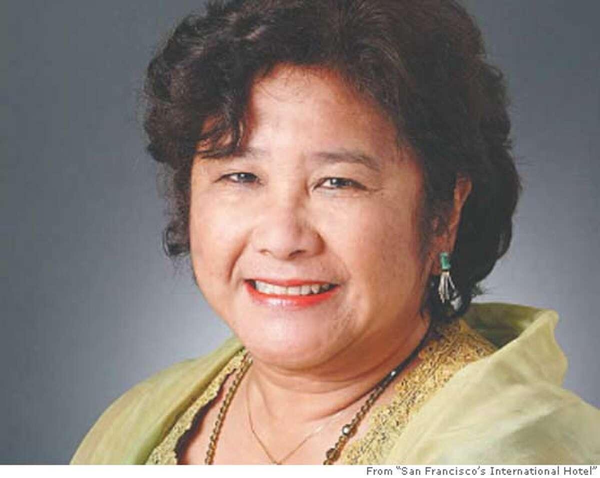 "Author Estella Habal. From ""San Francisco's International Hotel"""