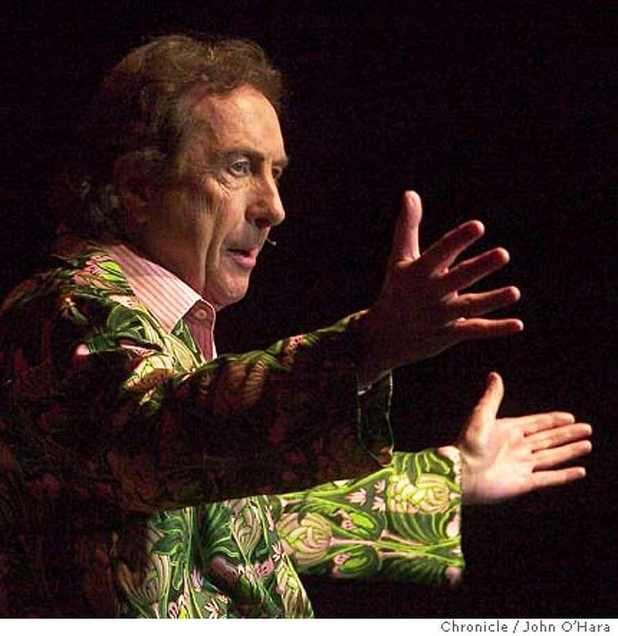 Fillmore Auditorium, Geary St. San Francisco  Eric Idle, Comedian ( of Monty Python fame)  photo/John O'hara Photo: JOHN O'HARA