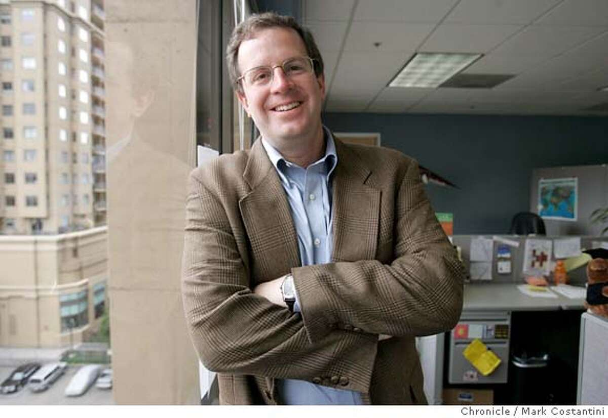 Alan Tripp of InsideTrack, an SF startup that provides coaching to college students. Photo: Mark Costantini / S.F. Chronicle