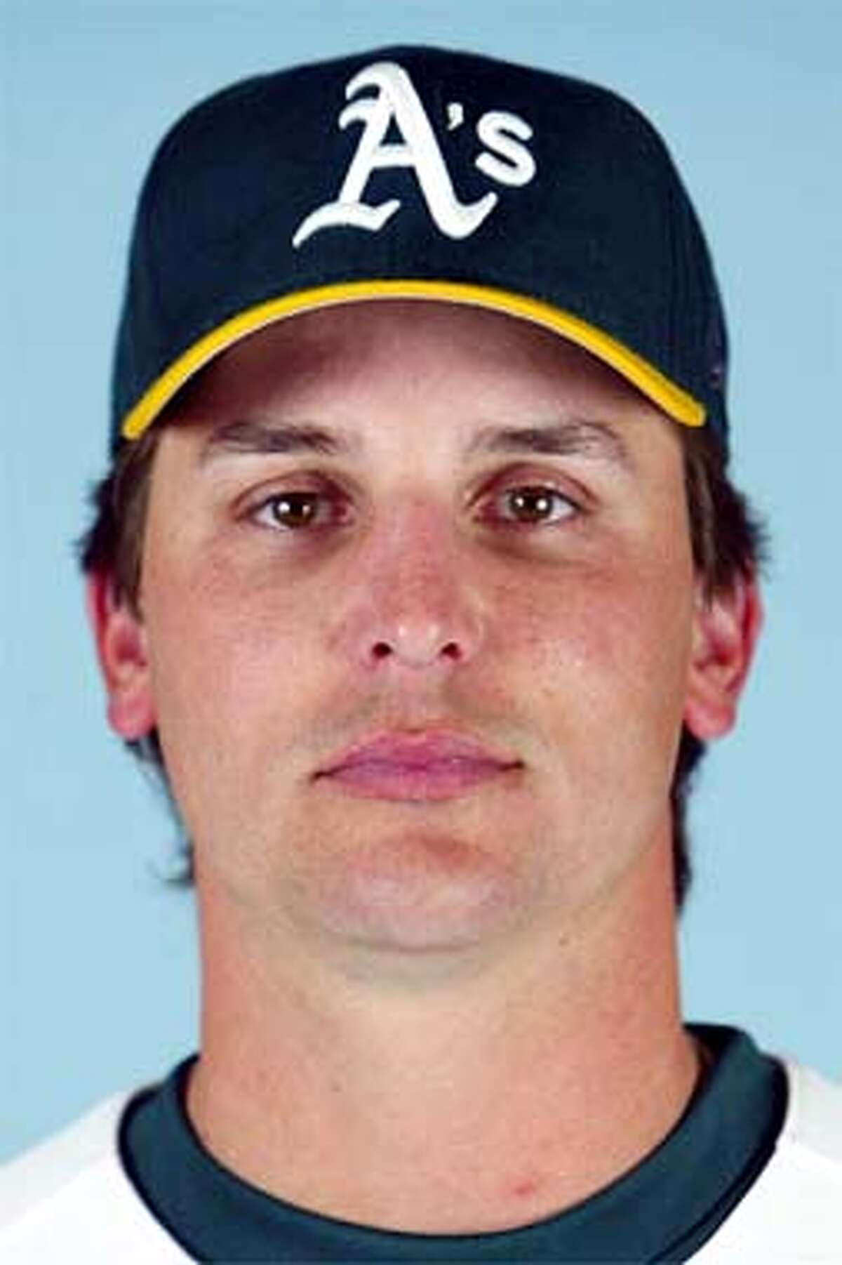 FOULKE001_AP.JPG This is a 2003 file photo of Keith Foulke of the Oakland Athletics baseball team (AP Photo/file)