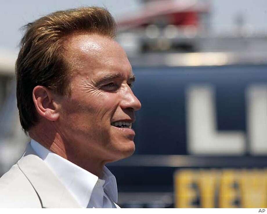 Gov. Arnold Schwarzenegger. AP Photo