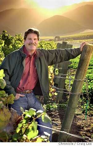 Winemaker to watch. Dan Lee, winemaker of the year. he is winemaker at Morgan Winery in Salinas. Photo of him in at his vineyard. Event on 11/3/03 in Salinas.  CRAIG LEE / The Chronicle Photo: CRAIG LEE