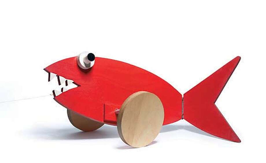 . For a classic collector�s item, The Calder Fish Pull Toy ($195), made of painted wood and string, is being reproduced for the first time since Alexander Calder made the toy for his grandchildren in the 1920s.