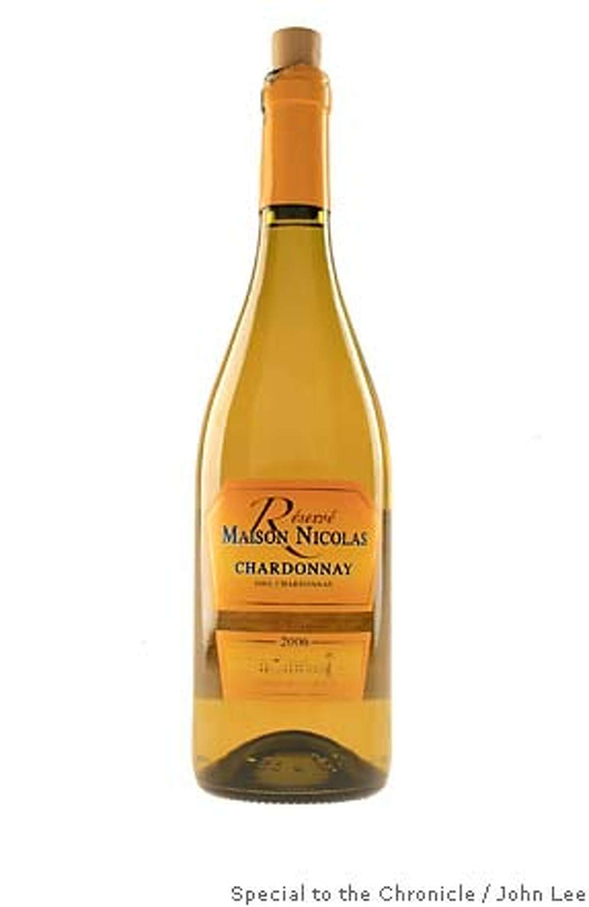 BARGAIN03_01_JOHNLEE.JPG 2006 Maison Nicolas Chardonnay. By JOHN LEE/SPECIAL TO THE CHRONICLE