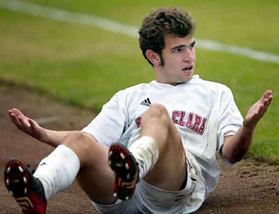 for weatherly05; Will Weatherly Don Jedlovec, Santa Clara University Athletics / HO Photo: Don Jedlovec