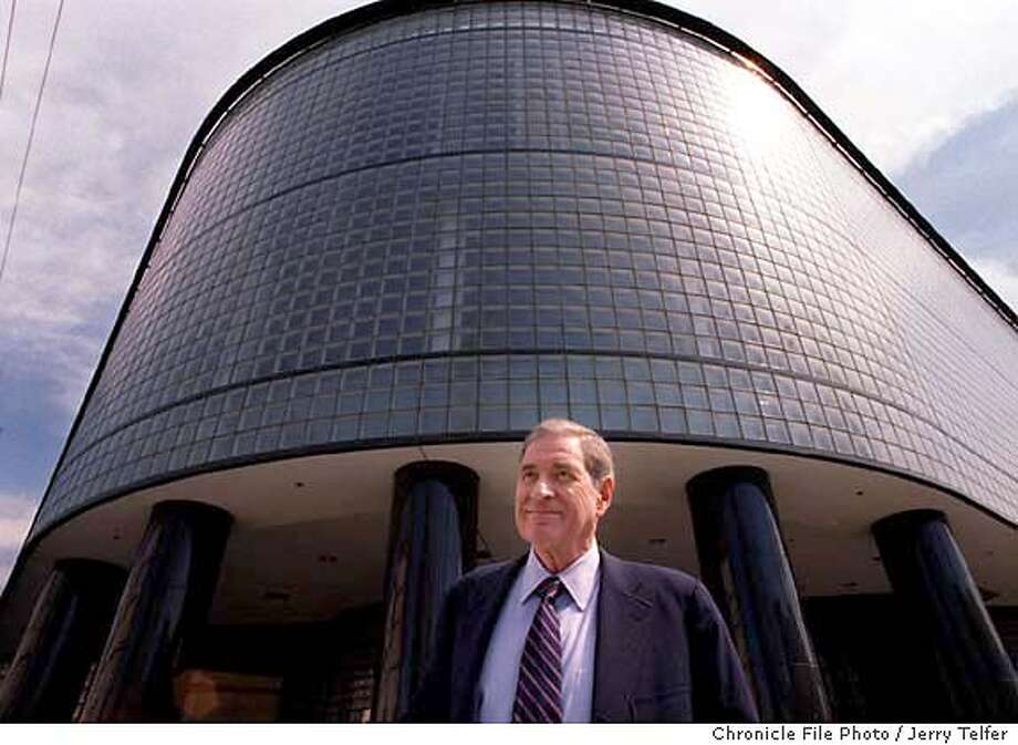 DOLBY_1/C/23SEP98/BU/JLT Dolby Labs founder Ray Dolby in front of the former SF Diamond Exchange building at 9th & Brannan Streets. Expanding from its Potrero Avenue headquarters, Dolby Labs is the new occupant of the site. 999 Brannan Street BY JERRY TELFER/THE CHRONICLE CAT Photo: JERRY TELFER