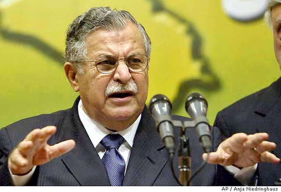 Iraqi council to create a militia / Political chiefs in