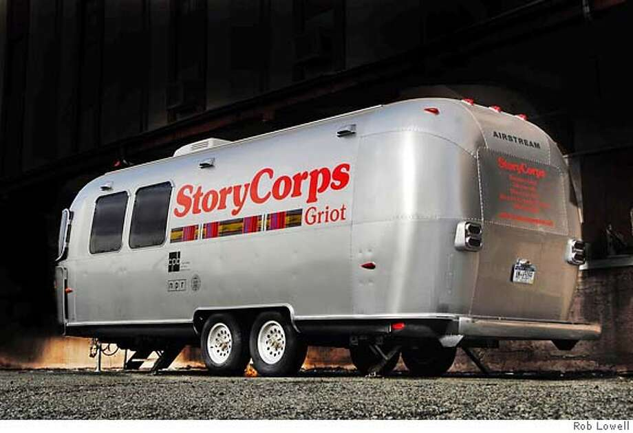 The StoryCorps booth will be in Oakland Aug. 17 to record oral histories. Photo: Rob Lowell