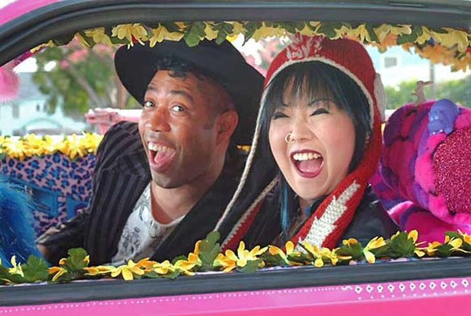 """Bam Bam and Celeste,"" written by and starring Margaret Cho, follows two best friends (Bruce Daniels, left, and Cho) looking for adventure on a road trip to New York. Photo: Handout"