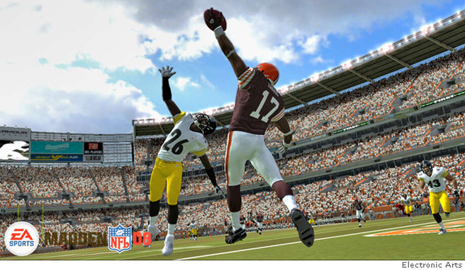 electronic arts' hit videogame madden '08 hits the stores this month Photo: Electronic Arts