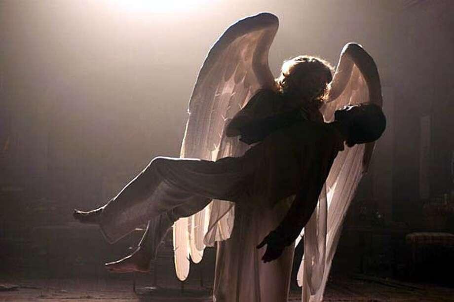 HBO production of ANGELS IN AMERICA: Emma Thompson. photo: Stephen Goldblatt