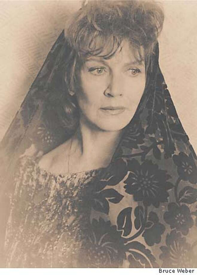 EDNA O'BRIEN PHOTO BY BRUCE WEBER  ONE TIME USE ONLY!