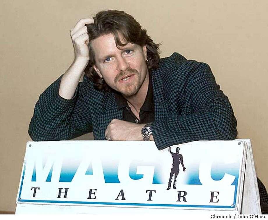 SMITH30_018_OHARA.TIF Magic Theater, Fort Mason, Bldg D.  Chris Smith, new artistic director  photo/John O'Hara Photo: JOHN O'HARA