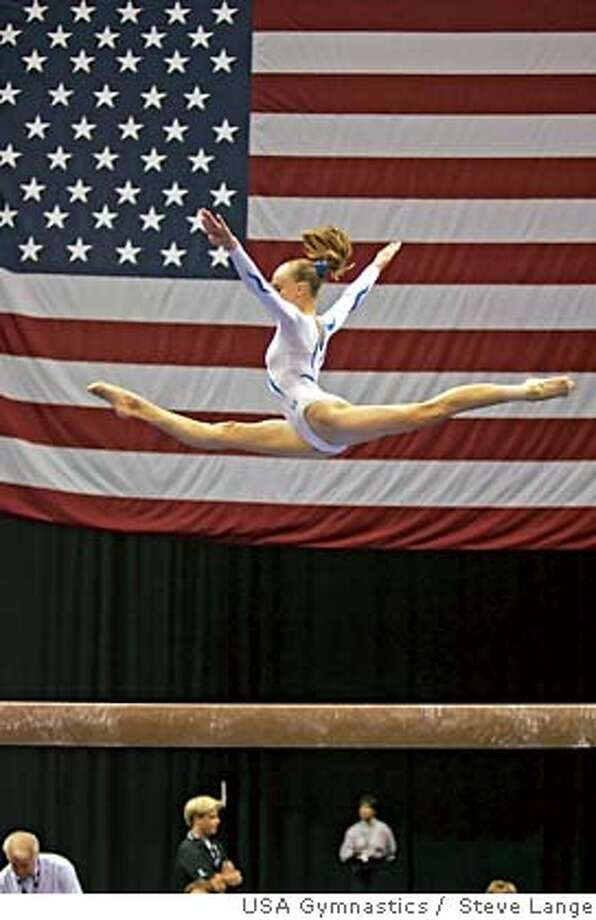 Nastia Liukin, U.S. gymnast, 2006.  Credit: Steve Lange/Courtesy USA Gymnastics Photo: Steve Lange/Courtesy USA Gymnast