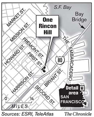 One Rincon Hill. Chronicle Graphic
