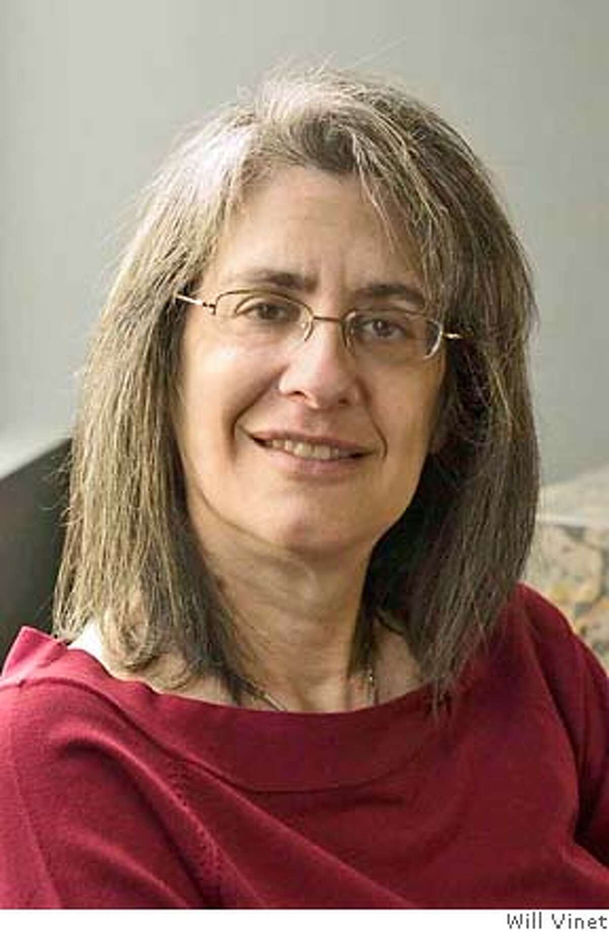 Elyn Saks author photo credit is Photo by Will Vinet