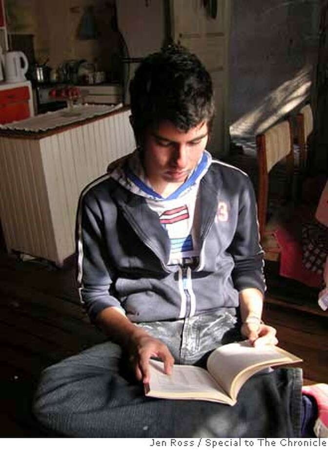 A 16-year-old boy has managed to single-handedly revive an extinct native language of Chile's far south. He's now the world's only speaker of Selk'nam, and he's learning Yag�n - another language on the verge of extinction. He even creates his own songs in an effort to spread interest. Jen Ross brings us the story of this exceptional teenager and his quest to rescue Chile's linguistic heritage. Jen Ross / Special to The Chronicle MANDATORY CREDIT FOR PHOTOG AND SAN FRANCISCO CHRONICLE/NO SALES-MAGS OUT Photo: Jen Ross